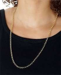 9CT Gold Round Belcher Chain - 24 Inch. £44.99 From the Official Argos Shop on ebay
