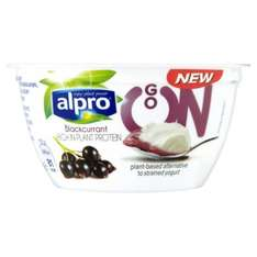 Alpro Go On Yogurts 150g Blackcurrant and Passionfruit flavours was 85p now 43p @ Morrisons