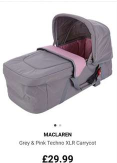 TK Maxx - Cheap Maclaren Pushchair Accessories
