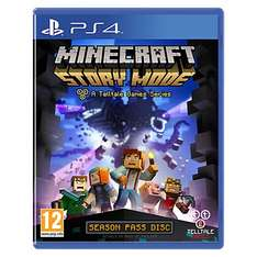 Minecraft Story Mode £16.99 online & instore @ John Lewis (£2.00 C&C, free delivery over £30)