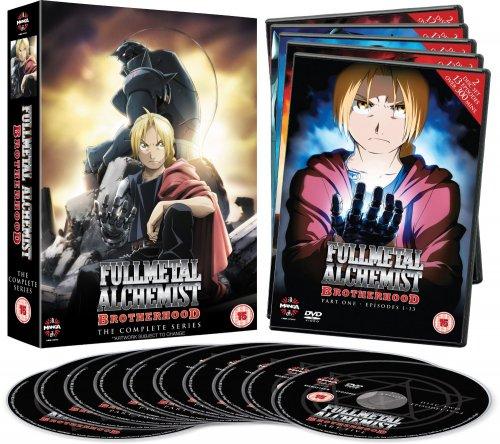 Fullmetal Alchemist Brotherhood Complete Series Collection DVD £18.69 (Prime) £20.59 (Non Prime) @ Amazon