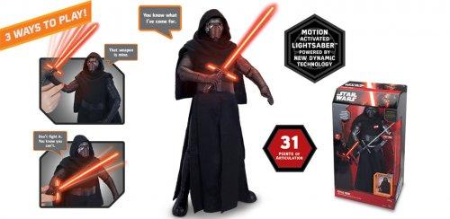 Kylo Ren / Darth Vader Animatronic Figures £19.99 each smythstoys