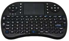 CPC - Wireless Mini Keyboard with Touchpad, Black (QWERTY  QK-90015) - Free Delivery £6.01