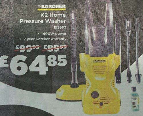 Karcher k2 @ homebase £64.85