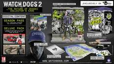 [XBOX ONE - PS4] WATCH DOGS 2 - The Return of Dedsec Collector's Edition AND Watch Dogs Dedsec Collector's Edition (Black Friday deal) - 114.99 @ Ubistore