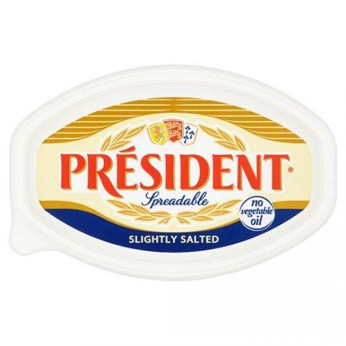 President Butter Slightly Salted Spreadable 500G @ Tesco - £2
