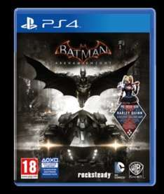Batman arkham knight (PS4) preowned £9.99 @ GAME