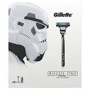 Gillette Mach3 Turbo Razor Plus Two Razor Blades and 75 ml Extra Comfort Shaving Gel, Star Wars Gift Set For £6.00 (Prime) / £9.99 (non Prime) @ Amazon