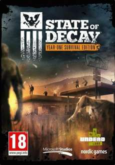 State of Decay (PC-DVD) Year One Survival Edition only £10.99 Amazon UK (+ £1.99 non Prime)