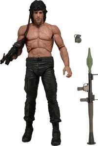 """Rambo - First Blood Part II 7"""" NECA Action Figure - NEW - £7.60 (£9.60 Delivered) - Forbidden Planet"""