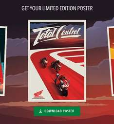Free downloadable limited edition Honda Fireblade poster