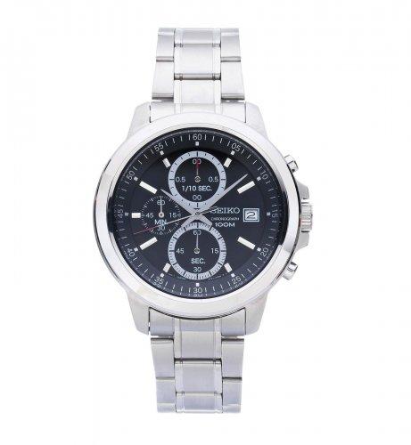 Seiko Men's Chrono Black Dial Stainless Steel Bracelet Watch  £47.99  Argos/eBay