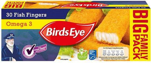 Birds Eye 30 (Alaska Pollock) fish fingers with Omega 3 was £5.20 now £2.80 @ Waitrose