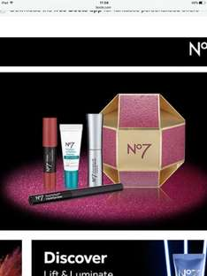 No7 Deal: Buy 2 makeup products and receive a free gift worth £26 at Boots online and in store