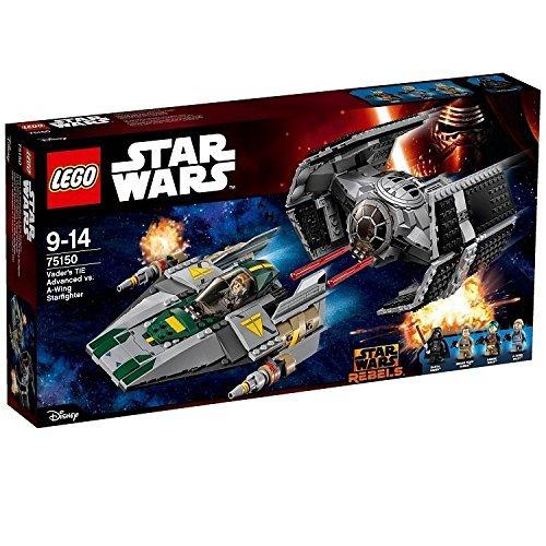 LEGO 75150 Star Wars Vader's TIE Advanced Vs A-Wing Starfighter Construction Set £40 @ Amazon