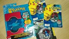 Pokemon trainer's £4.99 & keychains £2.99 B&M