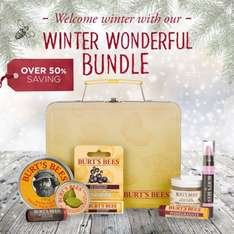 20% off code BBFLASH20 on all products including Christmas bundles (currently 50% off) at Burts Bees