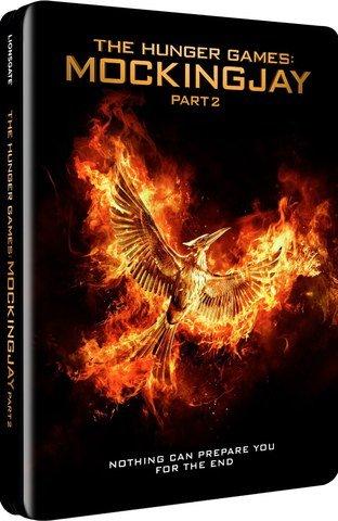 The Hunger Games Mockingjay Part 2 Steelbook - £9.99 at Zavvi