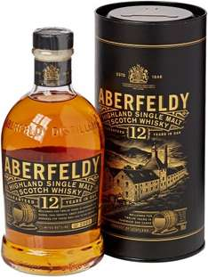 Aberfeldy 12 Year Old Single Malt Whisky, 70 cl even cheaper £23.99 @ Amazon