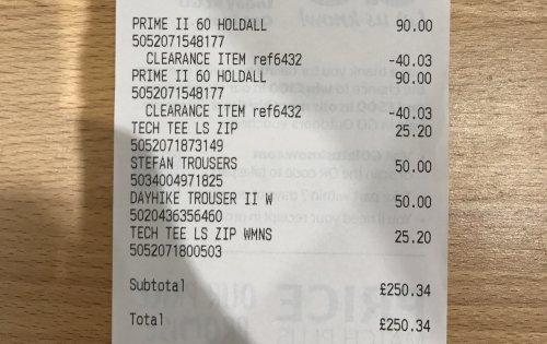 Berghaus prime 2 60 litre travel case £50 @ go outdoors - Southampton