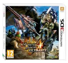 Monster Hunter 4 Ultimate 3DS Used £12 @ CeX