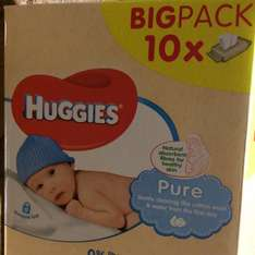 Huggies wipes - Box of 10 for £5 @ Morrisons instore (Walsall)
