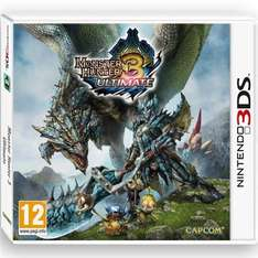 Monster Hunter 3 Ultimate 3DS Used £10 @ CeX