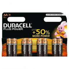 16 x AA or AAA Duracell batteries for £5 at Morrisons