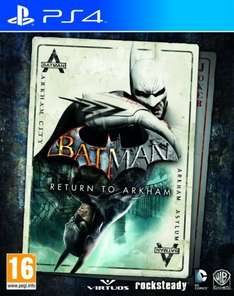 Batman return to arkham ps4 psn for £19.99