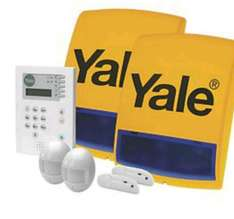 yale premium wireless alarm with voice call @ screwfix for £99.99