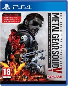 Metal Gear Solid V The definitive experience Ps4 Psn £14.99