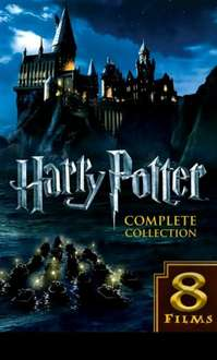 Own the Harry Potter Complete Collection (all 8 movies) in HD for only £14.99 on Google Play