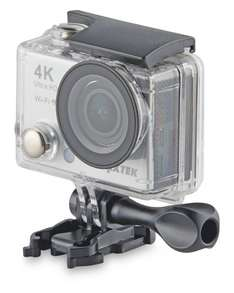 """4K (Interpolated) Action Camera with 2"""" display screen, WiFi and 32GB card £49.99 Aldi"""