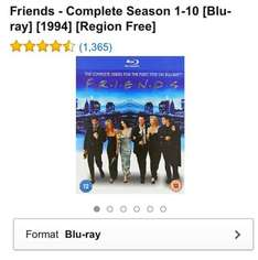 FRIENDS BOX SET IN BLU-RAY ONLY £34.99 @ Amazon