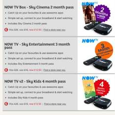 NOW TV Box inc up to 4 month pass £12.50 @ Sainsburys Black Friday