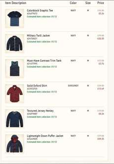 Hollister  25% OFF ENTIRE PURCHASE + FREE DELIVERY ON ALL ORDERS! USE CODE: 31308 (Works on sale items too)