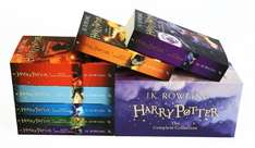 Harry Potter Book Box Set: The Complete Collection Paperback - £25 @ Amazon