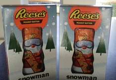 Reeces Snowman 141g.  £4 each or 2 for £3. Morrisons :)