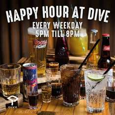Free Fizz at Dive NQ Manchester Friday 25th November 5PM