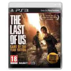 The last of us GOTY edition (ps3) £9.99 @ GAME