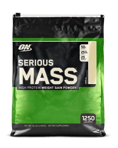 Optimum Nutrition Serious Mass Weight Gain Powder - 5.44 kg - Various Flavours - Amazon - Potentially £40 for two £28.99 via Amazon Fresh