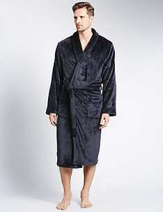 M&S 50% off selected Mens Dressing Gowns from £14.75