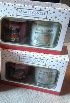 Yankee candle Christmas gift sets £14.99 @ clintons -  instore plus Black Friday savings on top!