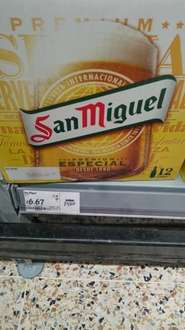San Miguel 12x330ml bottles at Asda in Dundee for £6.67