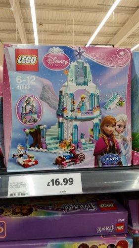 Lego Frozen Elsa castle 41062 £16.99 @ Tesco instore - Kingston Park, Newcastle upon Tyne