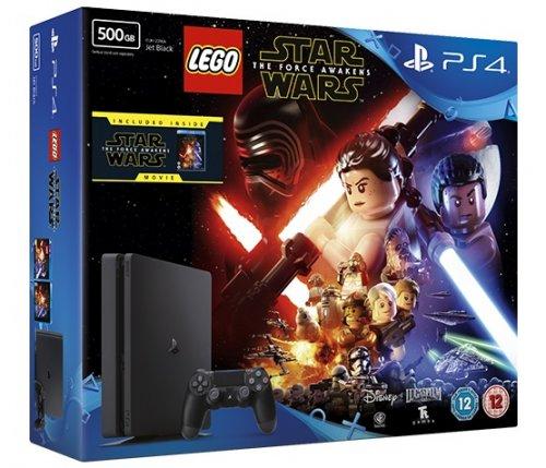 PS4 Slim 500GB Console + Lego Star Wars + Star Wars: The Force Awakens Movie £189 @ eBay (ShopTo)