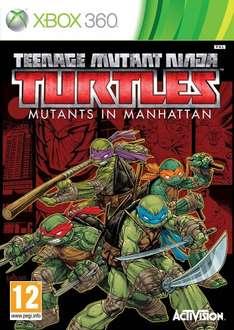 Teenage Mutant Ninja Turtles: Mutants in Manhattan (Xbox 360) by ACTIVISION ONLY £12.97 & FREE Delivery in the UK on orders over £20.00. Sold by SHOPTODAYPLAYTOMORROW and Fulfilled by Amazon Prime. Gift-wrap available.