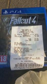 Fallout 4 PS4 £15 instore Asda Living - The Fort, Cheetham Hill Manchester