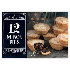 12 mince pies Iceland £1.50