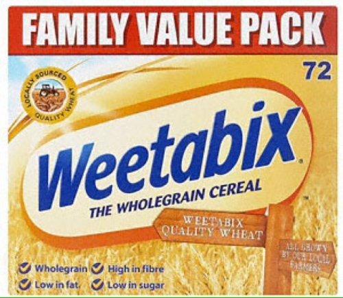 Weetabix 72 pack  £4 @ Tesco